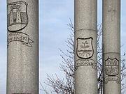Pomnik 27 Wołyńskiej Dywizji Piechoty AK w Warszawie 12.jpg