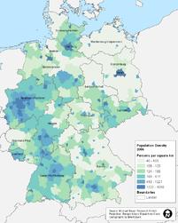 b33a2507e9 Németország népsűrűségi térképe