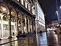 Portici settentrionali di piazza Duomo natale 2017 e luci foto 1.jpg