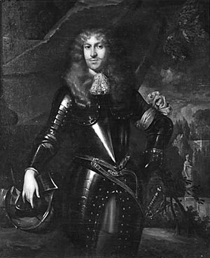 Portrait of Frederick of Nassau-Zuylestein attributed to Jan de Baan