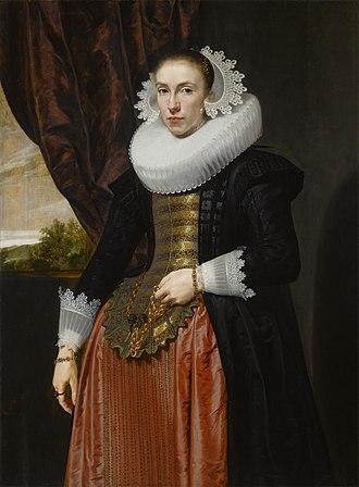 Pieter Soutman - Image: Portrait of the Wife of Alexander van der Capellen by Pieter Claesz Soutman