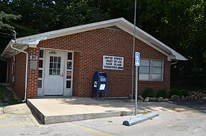 Rock Island, Tennessee - U.S. Post office in Rock Island