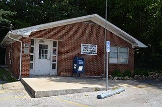 Rock Island, Tennessee - U.S. Post office in Rock Island
