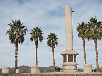 Poston War Relocation Center - Poston Memorial Monument