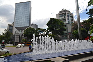 Savassi Neighbourhood in Belo Horizonte, Minas Gerais