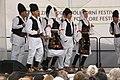 Praha, Staré Město, Ovocný trh, Pražský jarmark, srbské lidové tance V.JPG