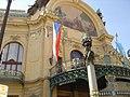 Praha - Náměstí Republiky - Obecní dům - Municipal House 1912 - Jugendstil IV.jpg