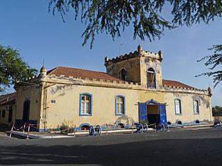 Quartel Jaime Mota building in Cape Verde