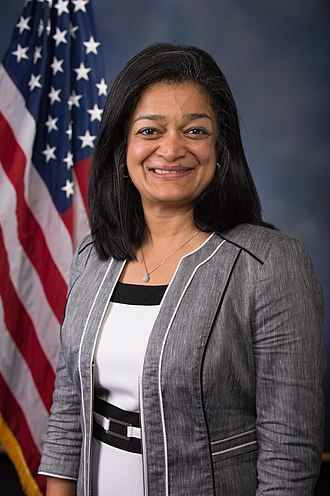 Washington's 7th congressional district - Image: Pramila Jayapal 115th Congress photo