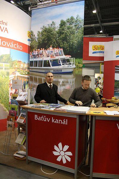 File:Presentation of Baťův kanál at Regiontour 2010.jpg