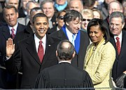 President Obama takes the oath of office DVIDS146283.jpg