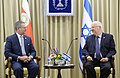 President Reuven Rivlin met with the Danish Foreign Minister the Minister of Foreign Affairs of Costa Rica (6775).jpg