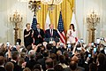 President Trump and the First Lady Visit with the President of Poland and Mrs. Duda (48058630293).jpg