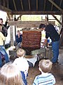 Pressing the Cheeses, Gregg's Pit - geograph.org.uk - 65693.jpg