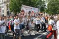 Pride in London 2016 - Members of Guy's and St Thomas NHS trust in the parade.png