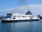 Pride of Canterbury arriving in Dover (8714433299).jpg
