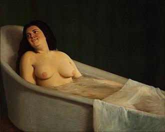 Prilidiano Pueyrredón - El baño (1865)