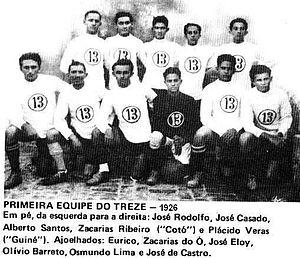 6a9531fa9d Treze Futebol Clube – Wikipédia
