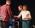 Prince Harry and Ms Markel attend 'Amazing The Space' event. (26097779187).jpg