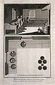 Processing of gunpowder and section of the apparatus used. E Wellcome V0023594ER.jpg