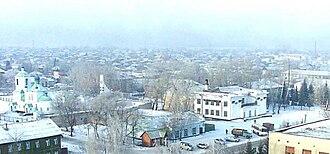 Promyshlennovsky District - Village panorama, Proma