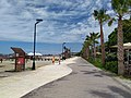 Promenade in Golem beach, Albania.jpg