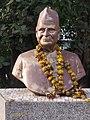 Pruthvisinh azad bust at bhavnagar 1.jpg