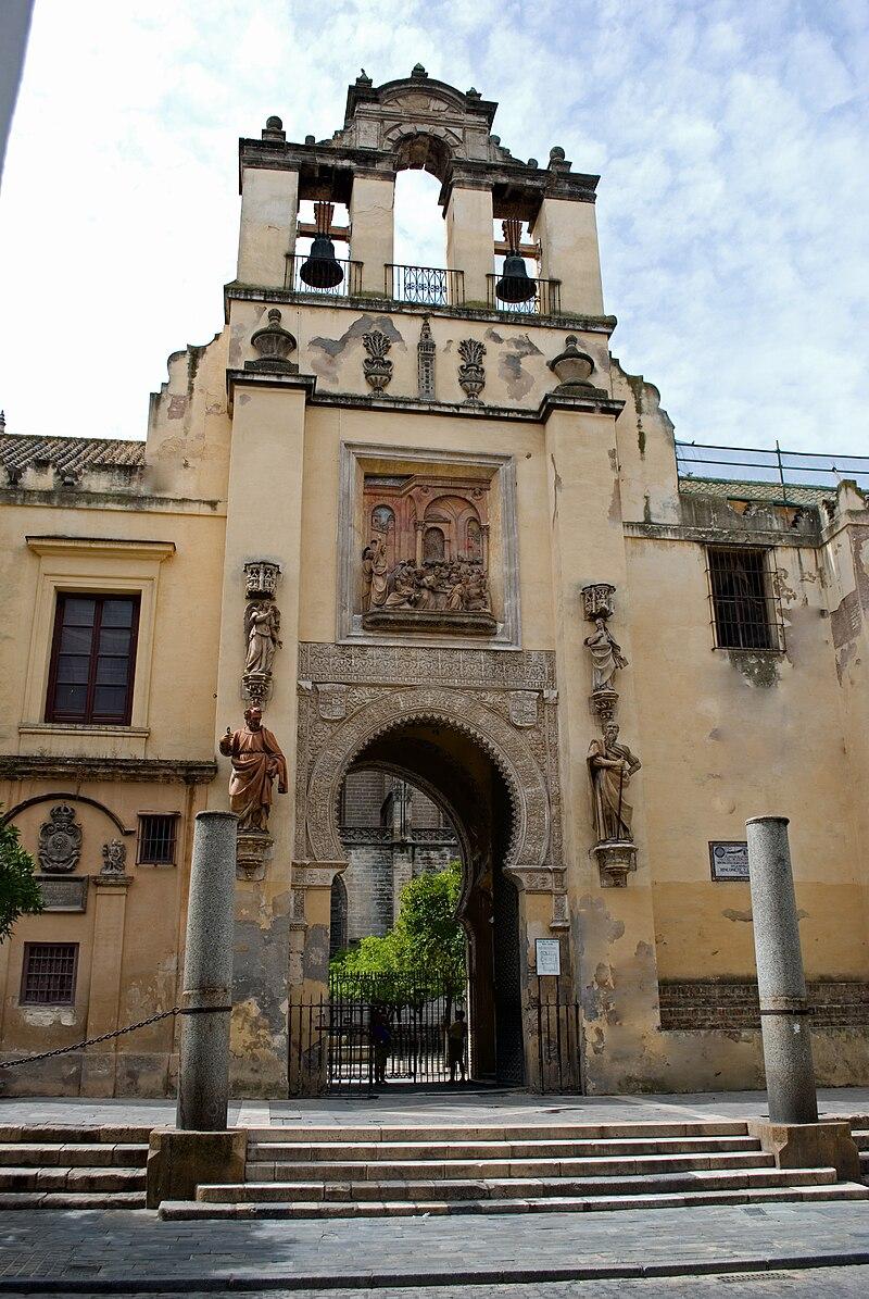 Semana santa y mas catedral de sevilla su historia for Puerta 6 del autodromo