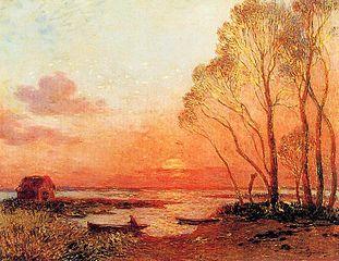 Sunset in Brière III