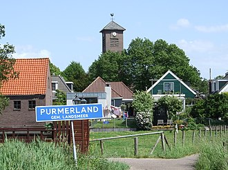 Purmerland - General view of the hamlet