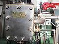 Queen Street Mill - Barring Engine Makers Plate 2768.JPG