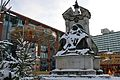 Queen Victoria statue in the snow, 2010.jpg