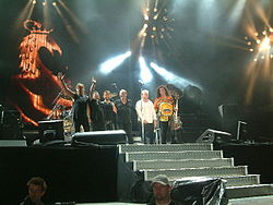 Queen + Paul Rodgers en 2005.