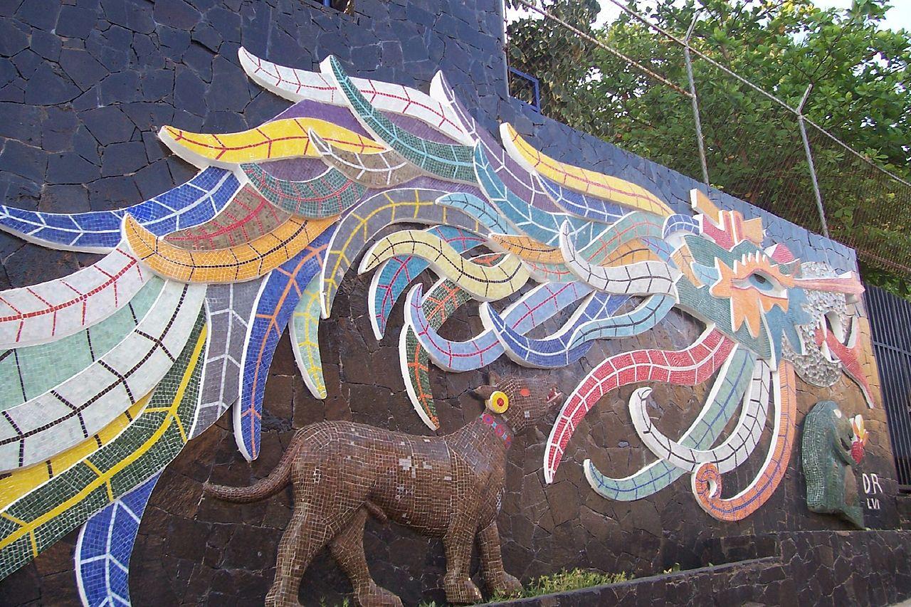 file quetzalcoatl mural in acapulco wikipedia