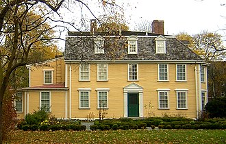 Dorothy Quincy Homestead - Image: Quincy Homestead Quincy MA 01