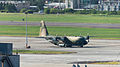 ROCAF C-130H 1302 Tied on Taipei Songshan Airport Apron 20140920.jpg