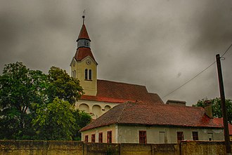 Bunești, Brașov - Image: RO BV Bunesti fortified church 1