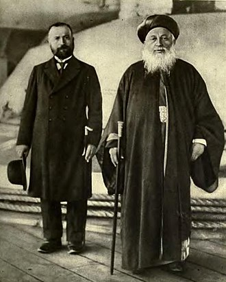 History of the Jews in Thessaloniki - Rabbi of the city, 1918