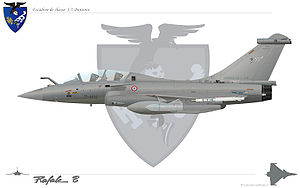 "01.007 Fighter Squadron ""Provence"" - Rafale B Provence squadron"