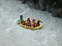 Rafting in Ljubljana