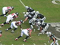 Raiders on offense at Atlanta at Oakland 11-2-08 09.JPG