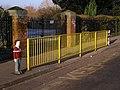Railings outside Foundry Lane Primary School - geograph.org.uk - 637322.jpg