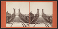Railroad, top of Suspension Bridge, by John B. Heywood.png