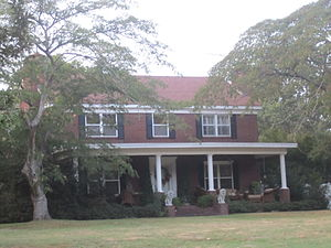 William M. Rainach - William Rainach's former Middlefork Farm is located north of Louisiana Highway 9 east of Summerfield in Claiborne Parish, Louisiana.