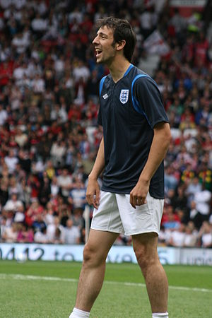 Ralf Little - Little at Soccer Aid in 2010