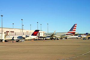 Colorado Springs Airport - Busy morning ramp