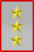 Rank insignia of tenente generale d'Esercito of the Italian Army (1918).png