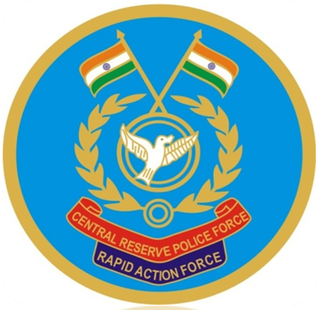 Rapid Action Force specialised wing of the Indian Central Reserve Police Force to deal with riot and crowd control situations
