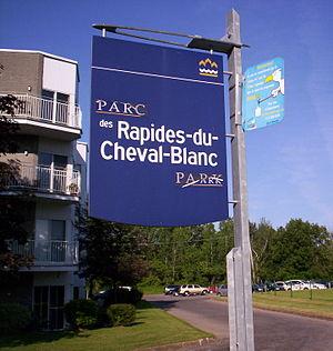 Rapides du Cheval Blanc - Image: Rapides du Cheval Blanc