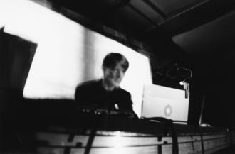 Raster-Noton - Olaf Bender as Byetone, playing live at MUTEK 2004